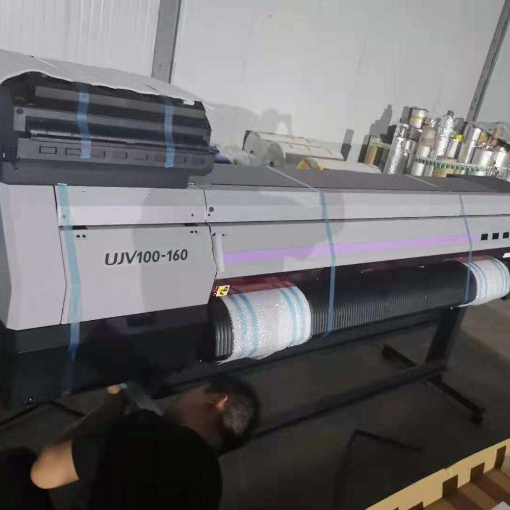 Mimaki UJV100-160 roll to roll UV printer with brother print head