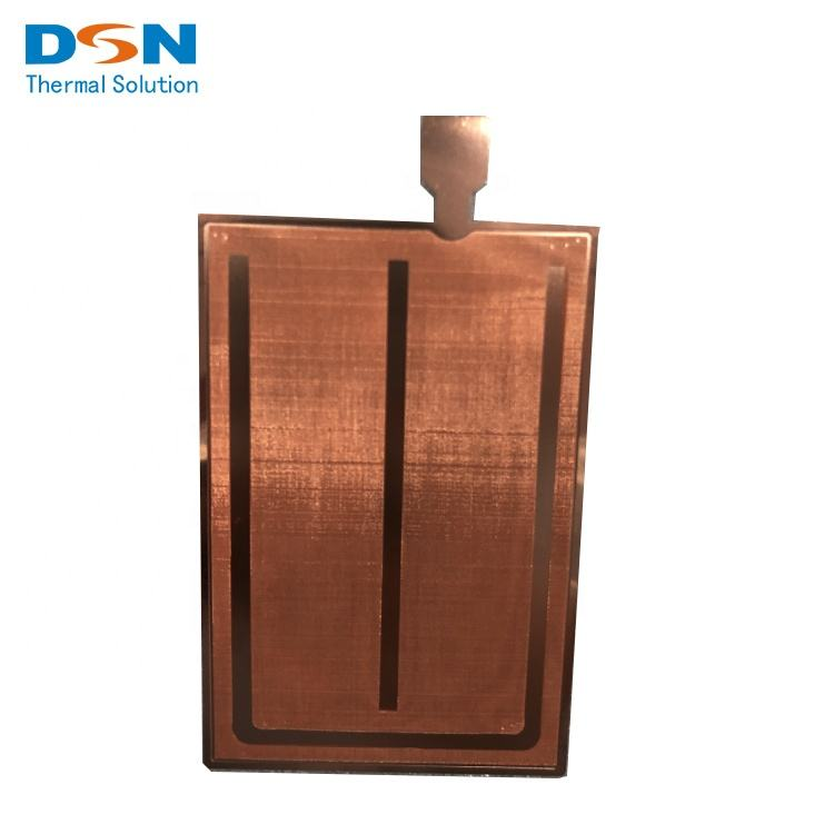 Customized copper liquid cooled copper vapor chamber Soldering Fins Heat sink Cooling System for Mini PC