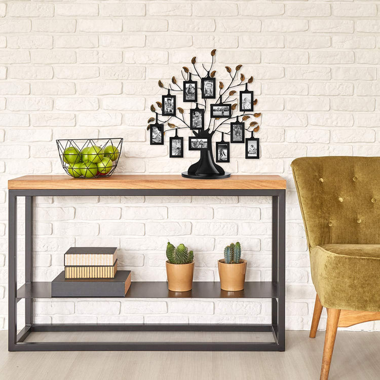 DIY Family Tree of Life Centerpiece Display Stand With 6 Hanging Photo Album Picture Frames