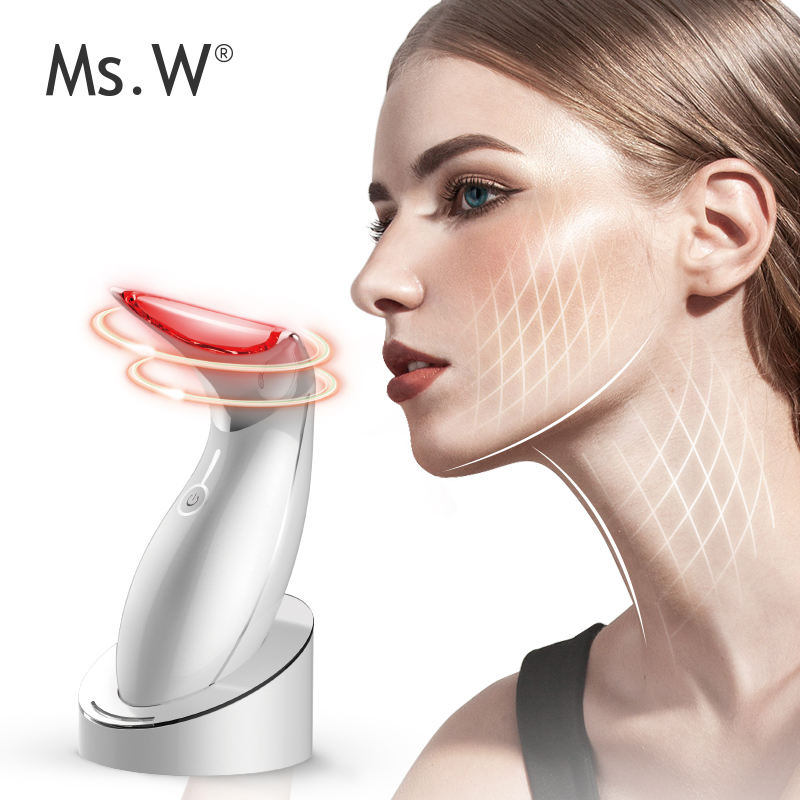 Ms.W ems face muscle stimulator lift band facial skin care machine