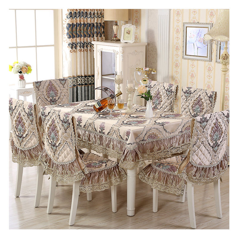 China supplier rectangular restaurant tablecloth for decoration