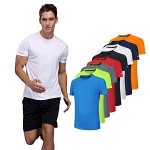 KCOA Stocked Quick Dry Breathable Unisex Polyester Running Blank T-shirt