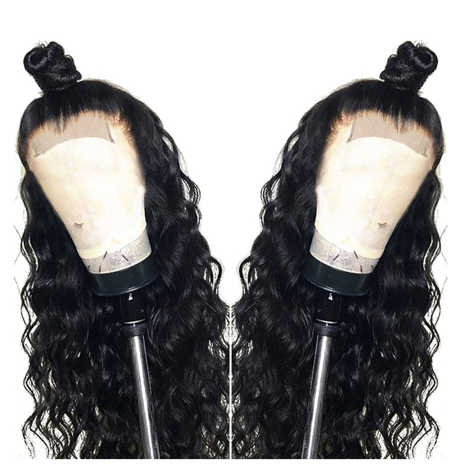 YesWigs Peruvian Virgin Cuticle Aligned Human Hair Closure Wig Vendor Dropshipping 4x4 Swiss Lace Front Wig With Spring Curls