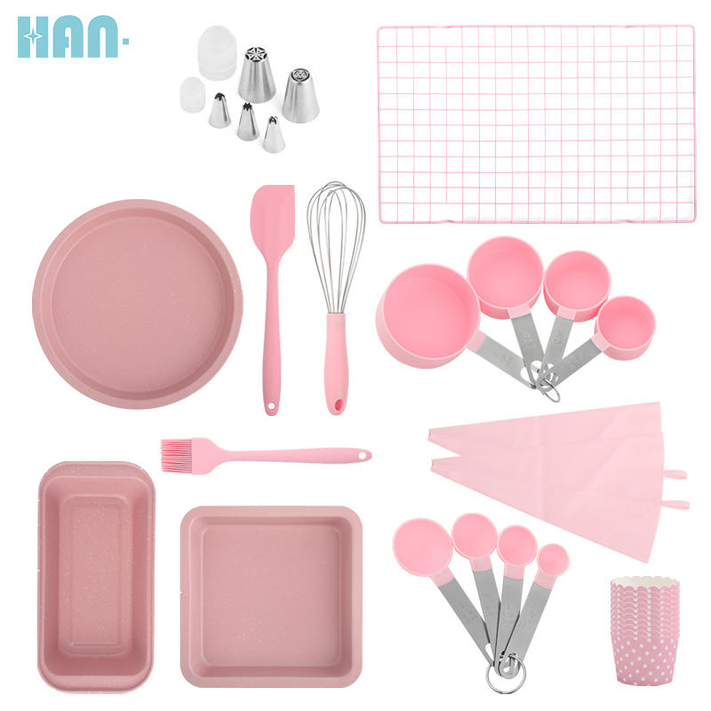 Beginner Adults Complete bakeware sets baking tools set Baking Pastry Tools Baking Accessories Cake Decorating Tool Set