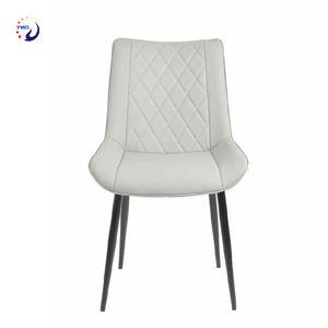 Restaurant en métal Antique de beauté chaises de salle à manger moderne de luxe En Cuir pu Dinant la Chaise