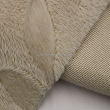 Chinese Supplier Soft Velboa Embossed Brushed Pile Style Fabric for Baby Blanket Material