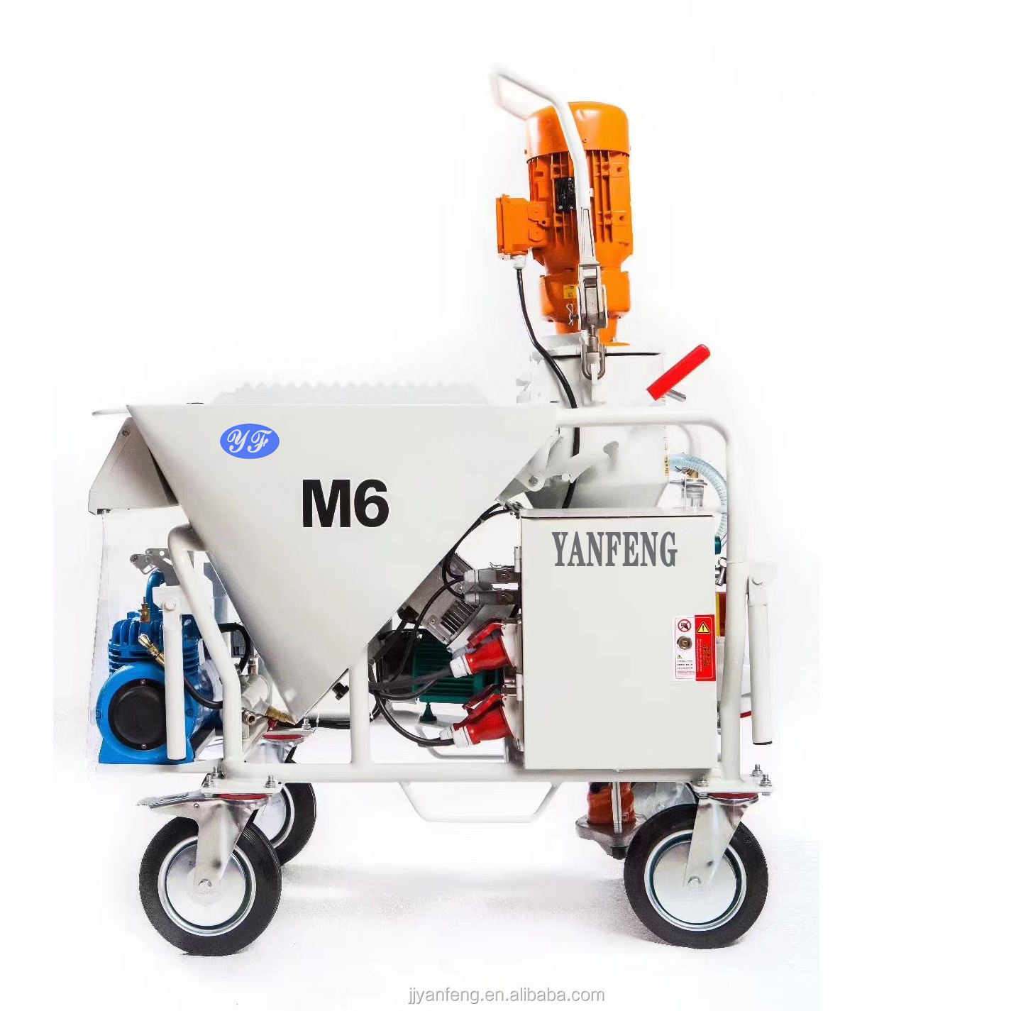 M6 High Quality Mortar Cement Gypsum Base Spray Plastering Machine not PFT G5C G4 na