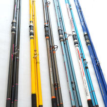 Weihai factory price 4.2M carbon fishing rod blanks  Fast action surf casting fishing rod