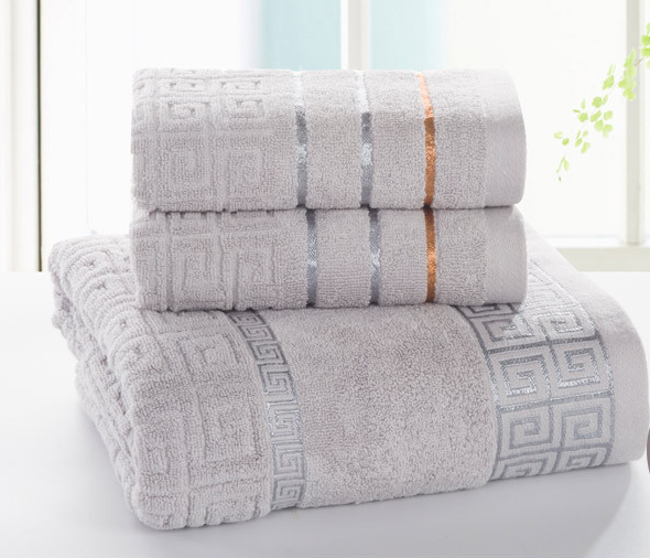 5 Star cotton hand towel set in luxury gift box