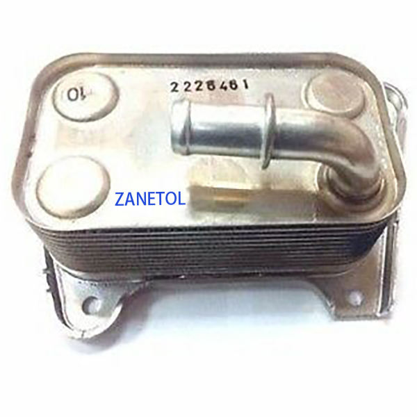 68020552AA 5142816AA Auto Diesel Engine oil cooler for J eep C herokee Kj 05-07 2.8 CRD LIBERTY 2005-2006