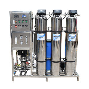 Stainless Steel Reverse Osmosis System 500lph Industrial Machine Ro Purifier Water Filter Plant Treatment Equipment For Drinking