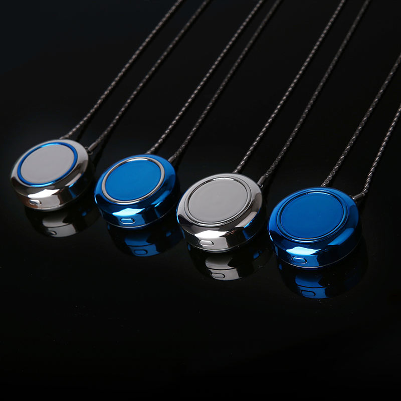 2020 Hot sale PM2.5 Mini Size USB ion Air Purifier Neck Wearable Personal Portable Necklace Air Purifier With Negative Ionizer