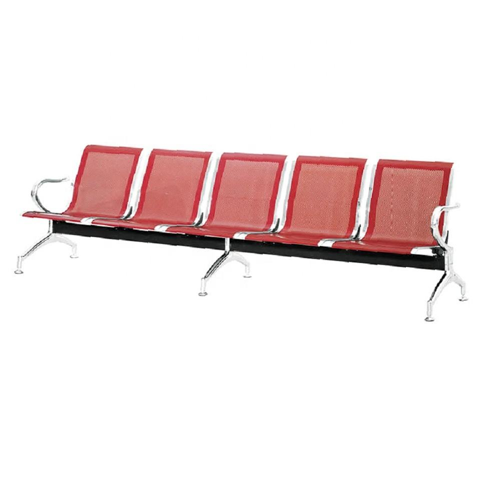 Xiongpai furniture modern cheap price long lots of seats hospital airport waiting chair