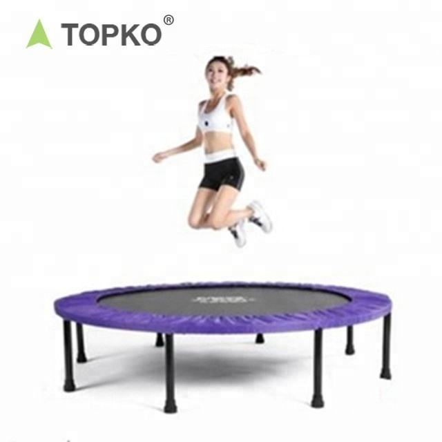 China Supplier Colorful Cords Foldable cheap Fitness out doorJumping Bungee Trampoline