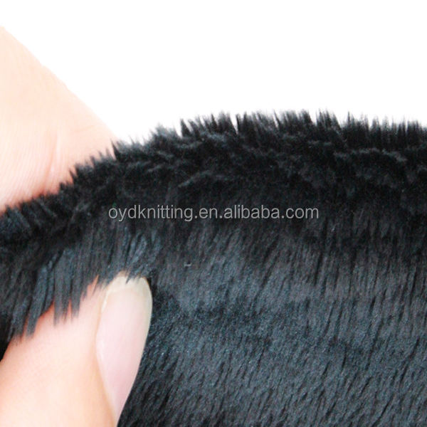 100% Polyester Polar Fleece Fabric, 5mm Plush Fabric, 290gsm Brushed Velour Fabric