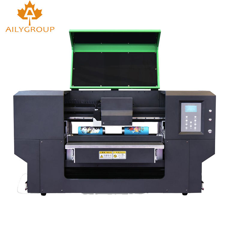 uv flatbed printing machine uv printer for phone cover / glass with rotary