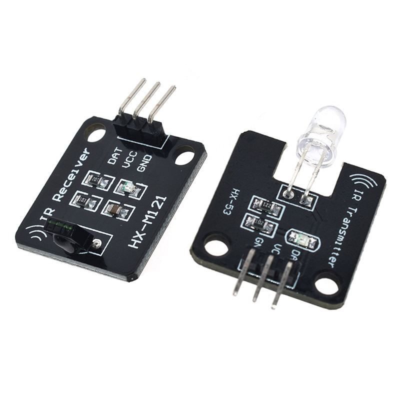 1set 38KHz IR Infrared Transmitter Module IR Digital Infrared Receiver Sensor Module For Arduino Electronic Building Block