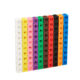 PE Plastic sorting small cube blocks toys set counting square building block toys educational learning toy