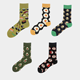 Custom Socks Socks Creative Custom Cotton Popular Logo Men Women Socks Tube Skateboard Casual Happy Socks