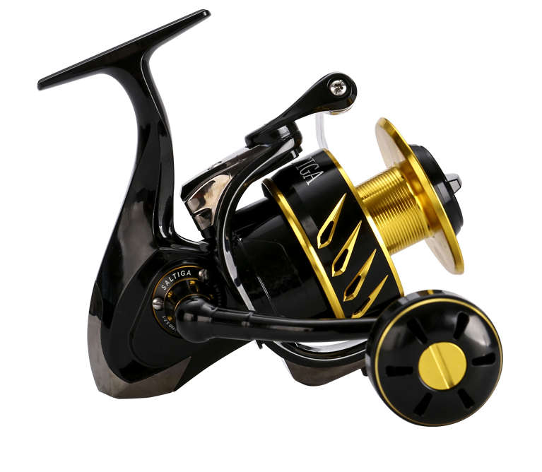 MADMOUSE Saltiga SW4000XG SW6000HG SW10000HG fishing reel saltwater 11+1 Bearings Spinning Jigging Reel 35kg DragPower