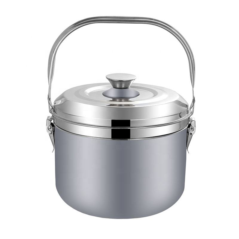 New 6L stainless steel kitchen energy saving cooking soup pot