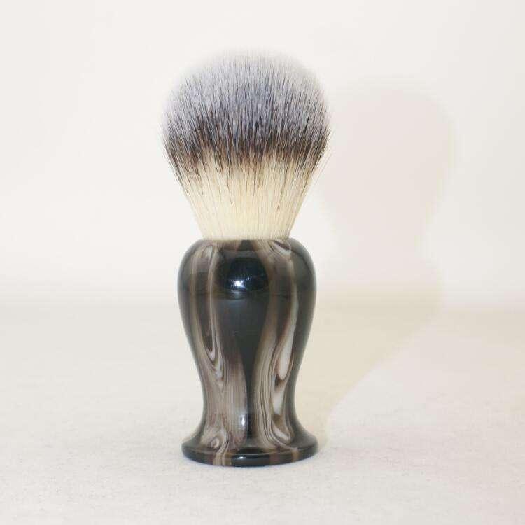 Yaqi бритвенная щетка с имитирующим серебряным <span class=keywords><strong>наконечник</strong></span>ом badger hair knots