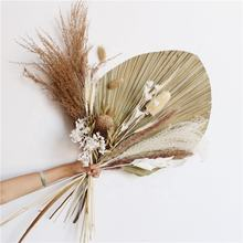 Wholesale real Eternal Lasting Long preserved trim flowers foliage Eternal Lasting Long Dried palm leaves