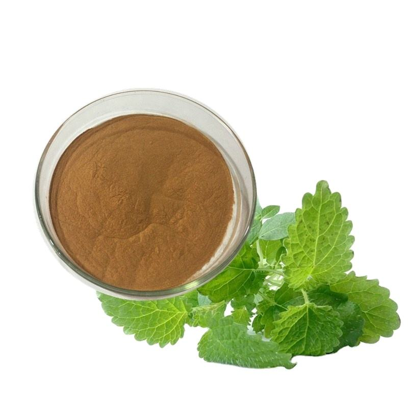 100% natural lemon balm powder/lemon balm extract powder