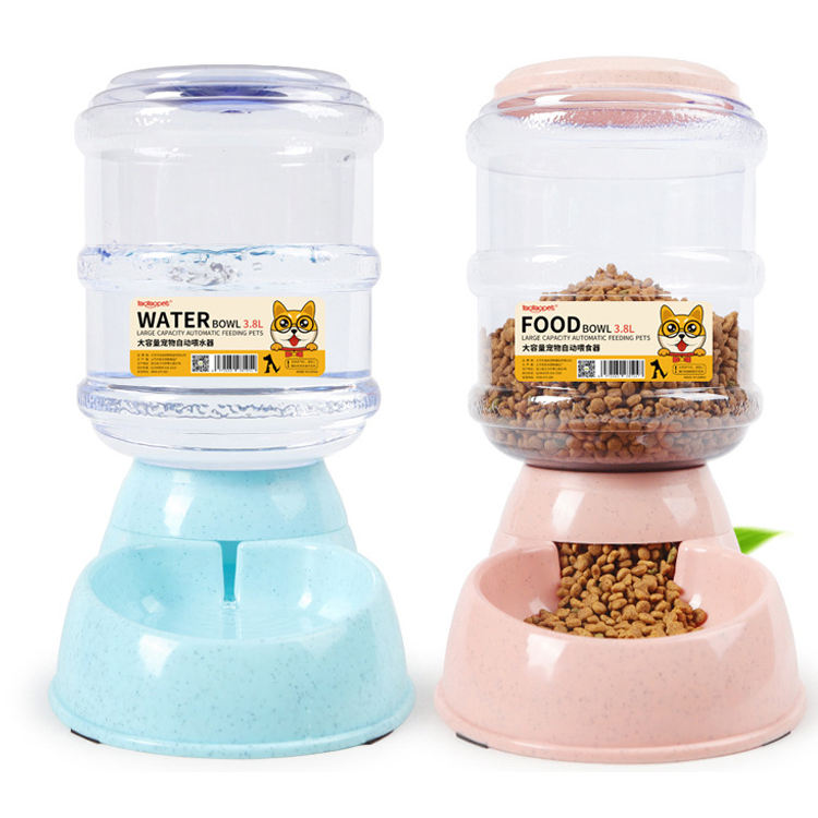 Custom logo wholesale luxury non slip Cat Dog Automatic Gravity Pet Water bowl /premium automatic pet feeder bowl