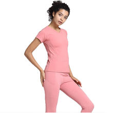 Custom Sweat Training Wear Set Gym Tight blank 2 Piece Suit Jogging sets for women