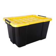 Heavy Duty Containers Big Plastic Storage Box With Lid 60L