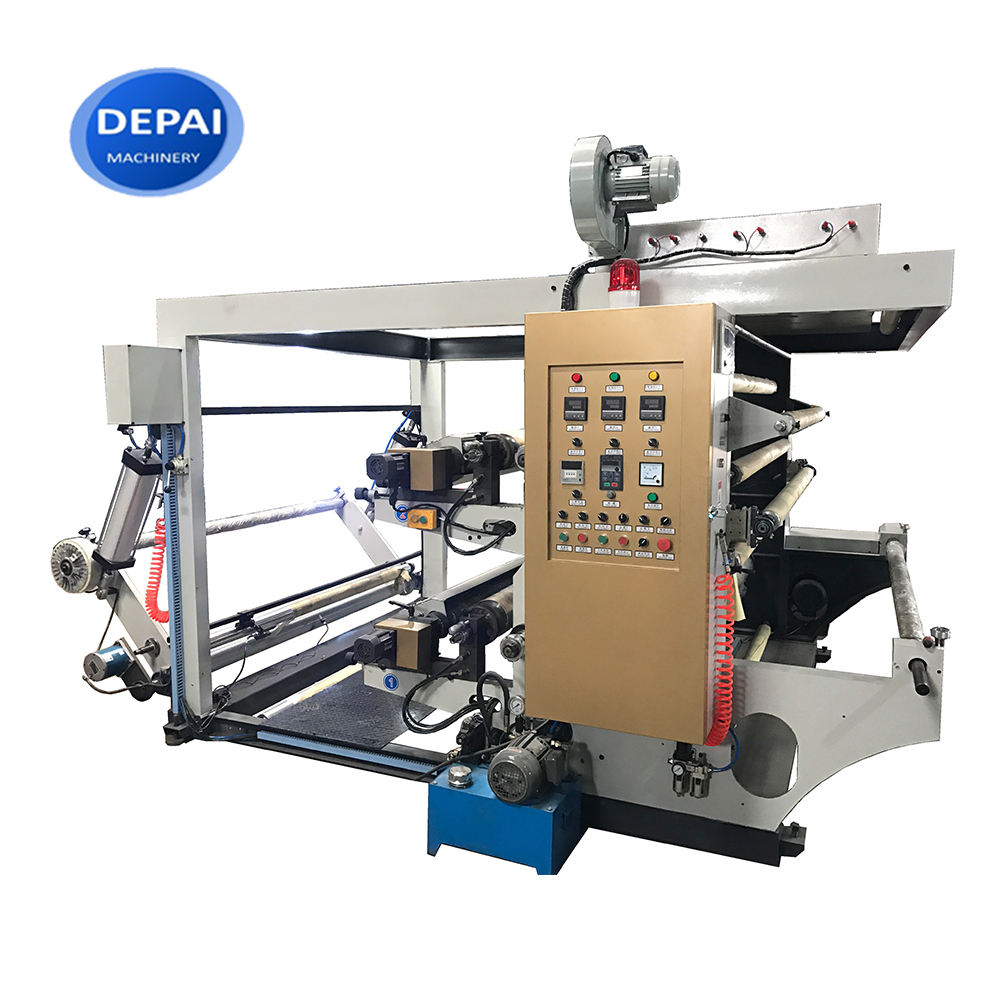 High speed multi colors non woven flexo printing machine made in china