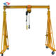 Rubber Gantry 10 Ton Mobile Gantry Manufacturer Portable Mini Rubber Tyre 10 Ton Mobile Gantry Crane