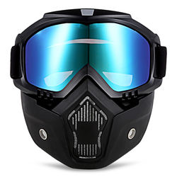 Lens mask goggles outdoor Harley goggles mask