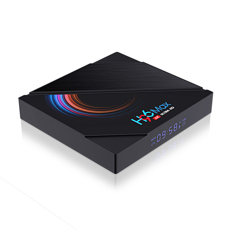 4GB 32GB Dual Wifi BT 4,0 4K Android TV Box H96 Max Rk3318 Android 9,0 Set-Top-box
