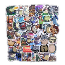 50pcs/bag Japanese Movie cartoon anime My Neighbor Totoro Stickers  for Notebook / Guitar / Car/Mobile phone