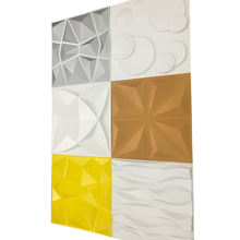 Various Colors Indoor and Outdoor Decorative Wallpaper PVC 3D Wall Panel for Wall Decoration