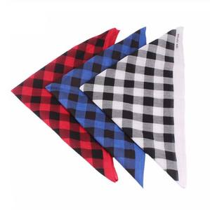 Hiking Scarf Square Head Plaid Bandanas Head Wrap Hair Accessories