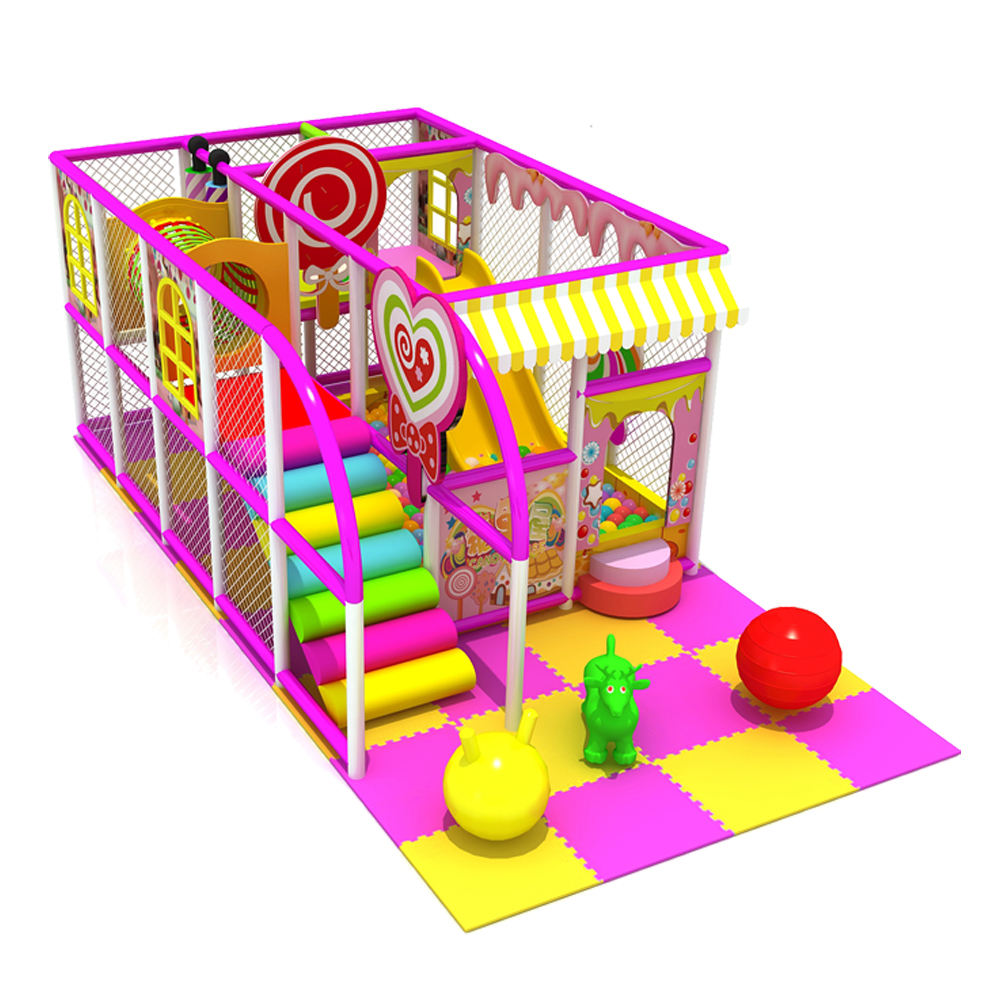 Small kids indoor playground equipment OL-BY030