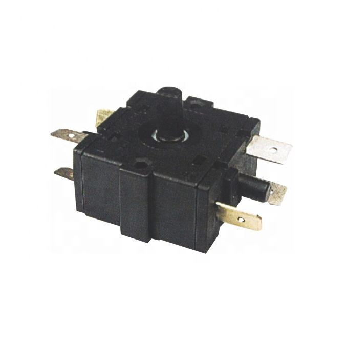 SAJOO Rotary Switch Selector AC 250V 16A Electric Room Heater 3 Position 2Position 5Pin Oven Stove Black Plastic Rotary Switches