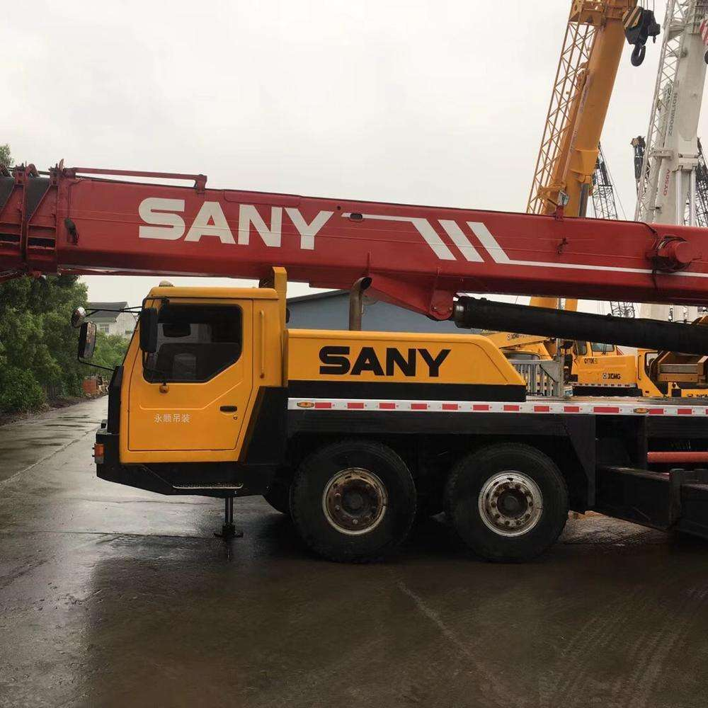 High Performance Used Original Condition Sany STC500 50 ton Truck Crane For Sale