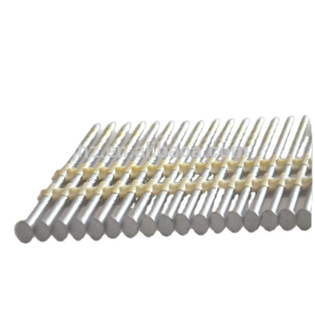 21 degree zinc plated Plastic Strip Nails used in gun