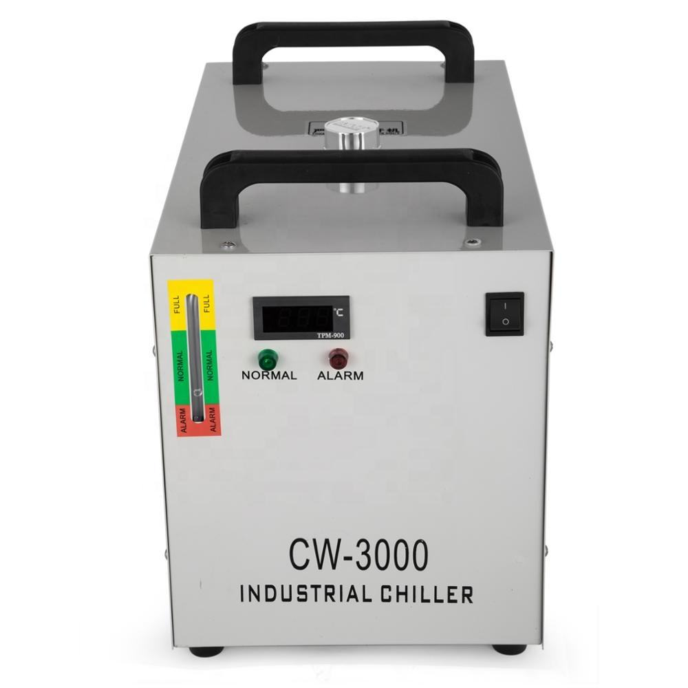 Industrial water chiller cw3000 Factory Price co2 laser tube small air cooled water chiller cw3000