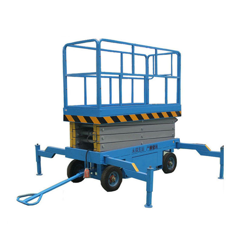 CE certificate 9m height hydraulic mobile scissor lift scissor lift table electric scissor lift platform for aerial work