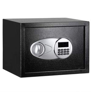 High Quality Home Steel Security Safe Box Digital Electronic Safe Money Box