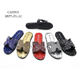 Summer Slippers Outdoor Glitter Sandal Unique PVC Slides Slippers And Sandals For Women