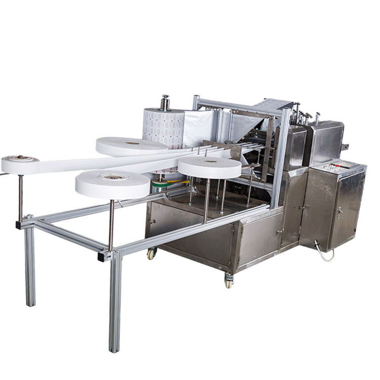 Fully Automatic Alcohol Swab Packaging Machine Alcohol Swab Pad Making Machine