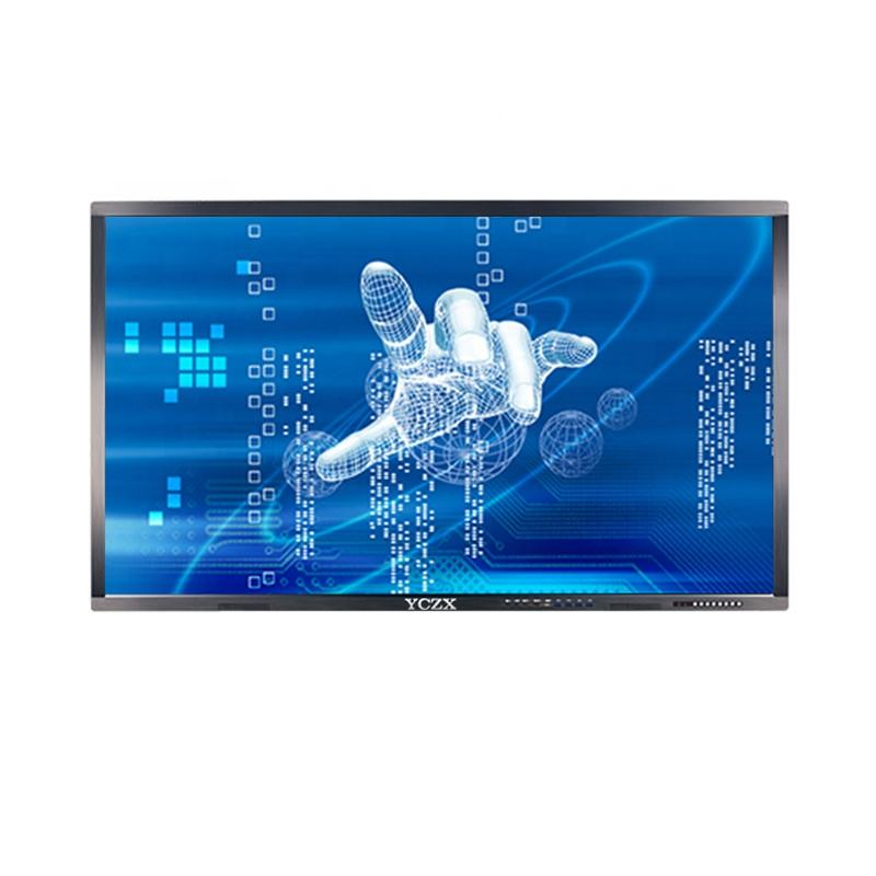 50 Inch Touch Screen Lcd <span class=keywords><strong>Infrarood</strong></span> Touch Screen En Draadloze Monitor Met Wandmontage