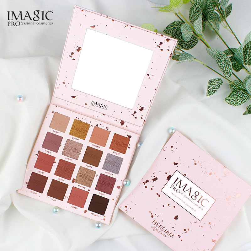 IMAGIC Beauty Brand Top Sell 16 Color Eyeshadow Palette Wholesale
