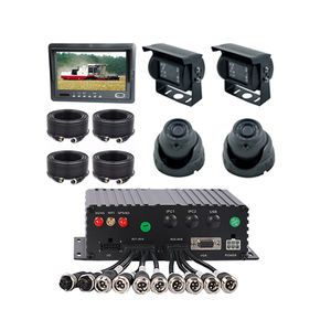 High quality 8 channel 1080P HDD Mobile DVR MDVR with GPS 4G WiFi for bus truck
